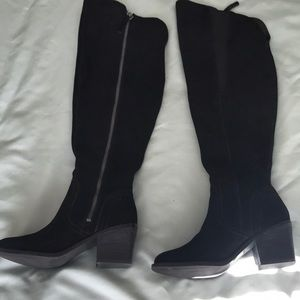 a6d0288c5277 Black over the knee boots